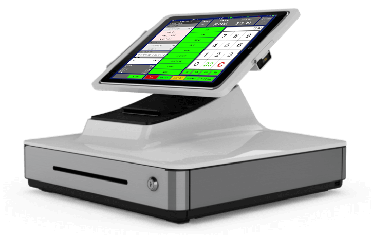 POS system with both retail and restaurant functions
